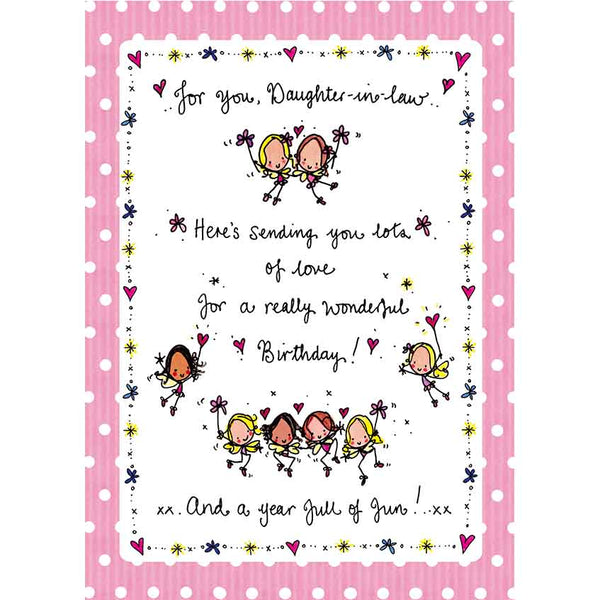 For You Daughter In Law... Happy Birthday