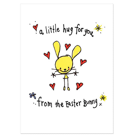 A little hug for you from the Easter bunny
