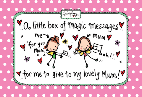 A little box of magic messages for me to give to my mum! - Juicy Lucy Designs  - 1