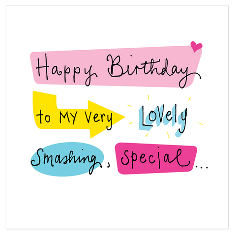 Happy birthday to my very lovely smashing, special... - Juicy Lucy Designs  - 1