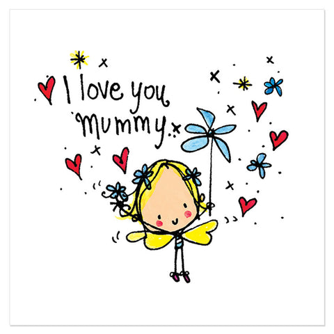 I love you mummy x