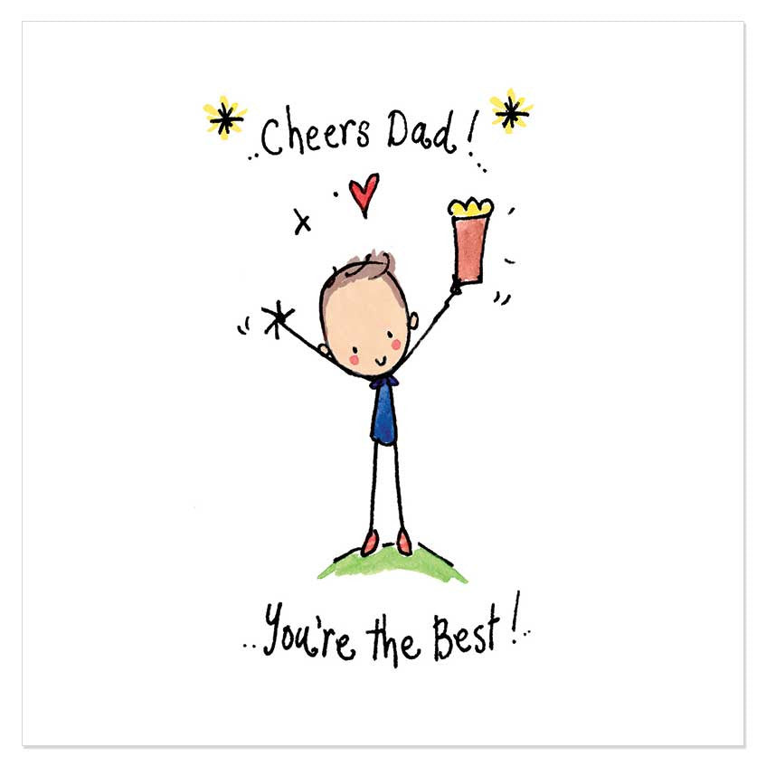 Cheers Dad! You're the Best! – Juicy Lucy Designs