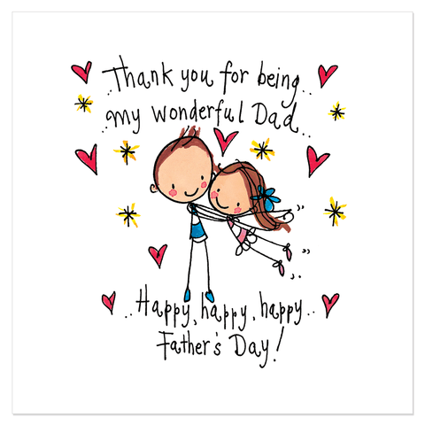Thank you for being my wonderful Dad... Happy Father's Day - Juicy Lucy Designs