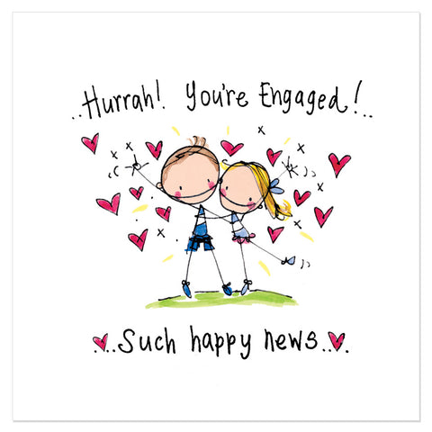 Hurrah! You're engaged! Such happy news..