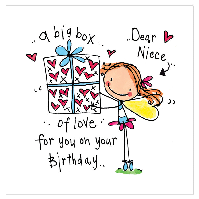Dear Niece A Big Box Of Love For You On Your Birthday