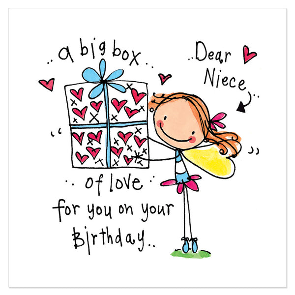 Birthday Quotes For Nieces: Dear Niece... A Big Box Of Love For You On Your Birthday