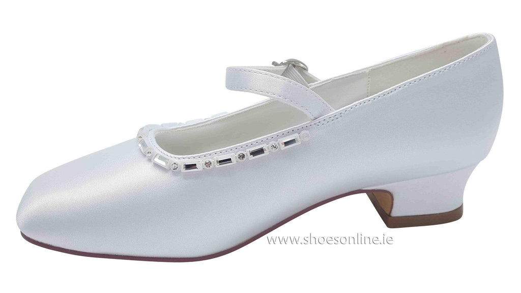 Dubarry Girls Dubarry Tale Communion Shoe