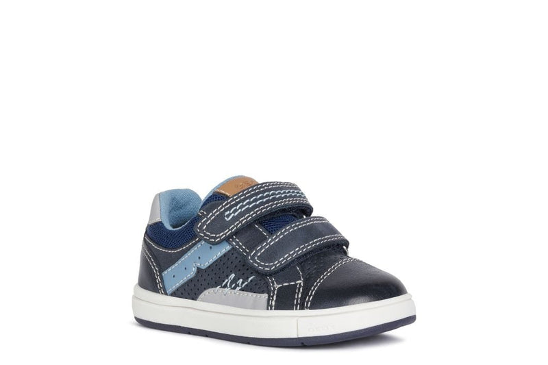 Geox Kids 4.5UK / NAVY Geox Infant Boys Trottola Boys Shoes B1543A