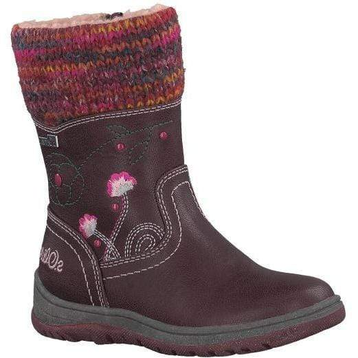 S Oliver Girls Boot 5 5 36410 21