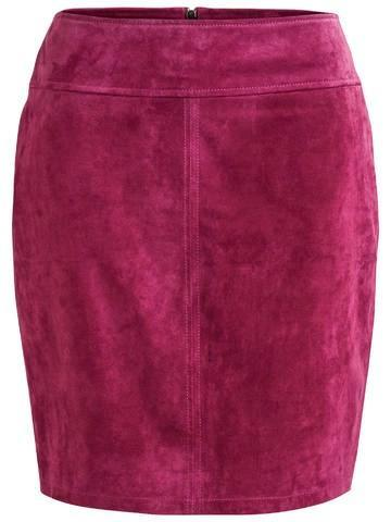 VILA Women Vila Miss Suede Skirt 14045004