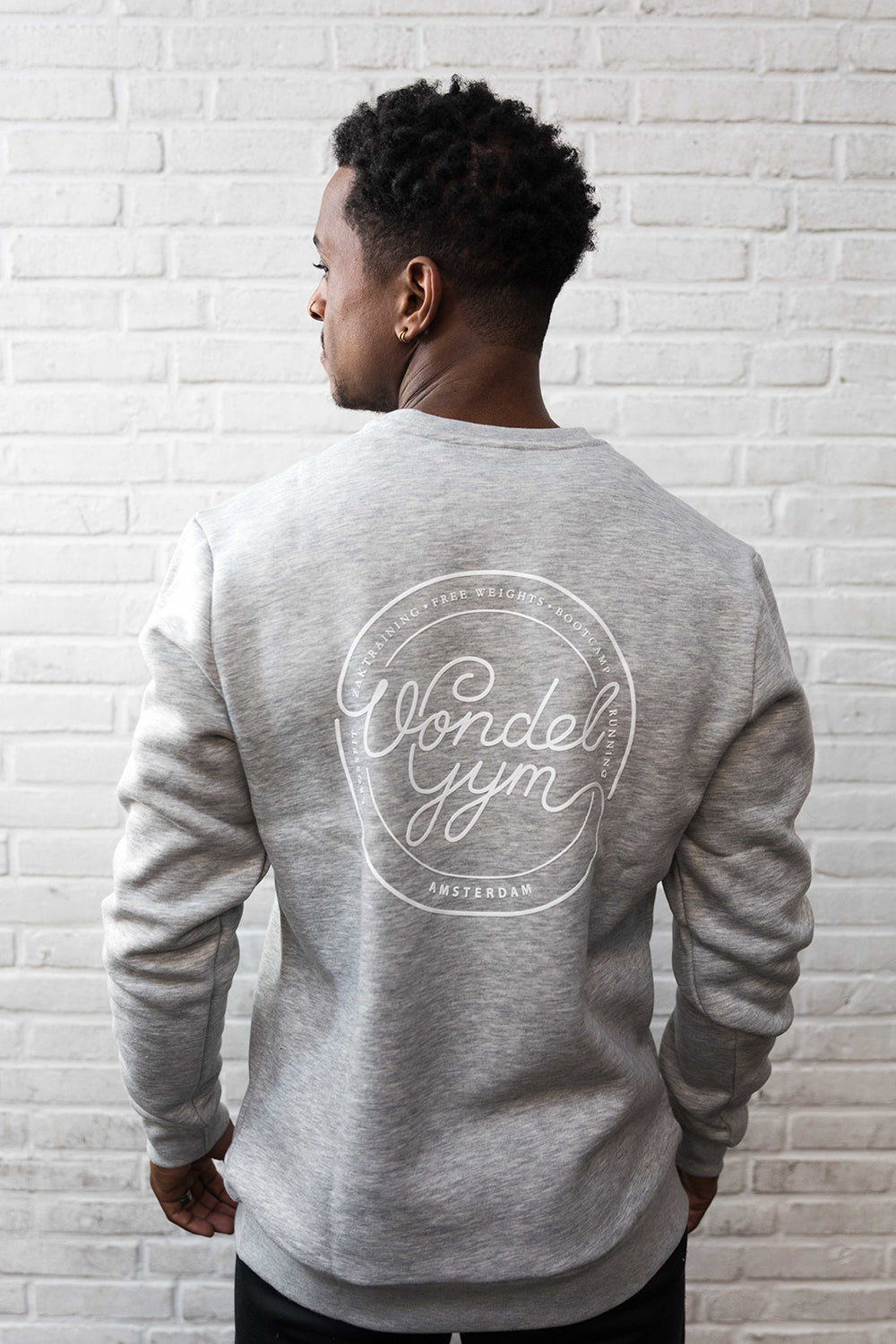 - Vondelgym Sweater Grey