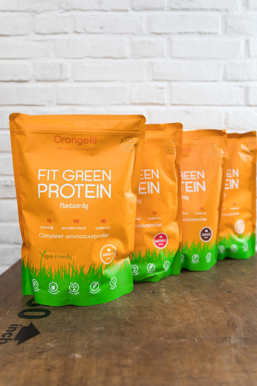OrangeFit Fit Green Protein