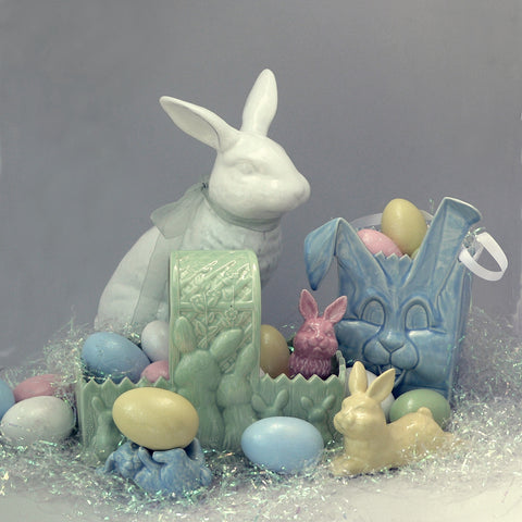 Easter Bunny Range of Ceramic Ware by Ceramix