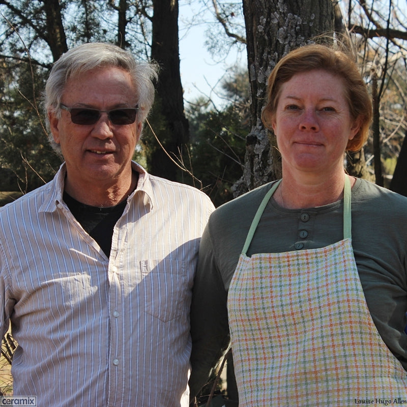 Merryn & Ron Scott the owners of Aloe Dale Organic Farm
