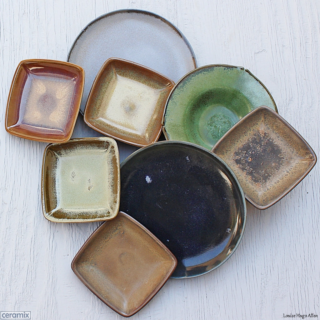 Handmade Terracotta Plates by Ceramix Pottery in South Africa