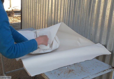 Wrap more layers of paper around the entire platter
