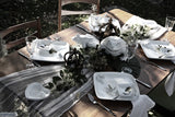 Ceramic Frog Tablescape by Ceramix