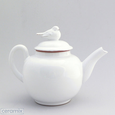 Ceramic Bird Teapot