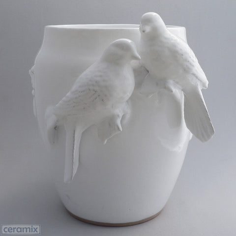 Ceramic Large Dove Vase