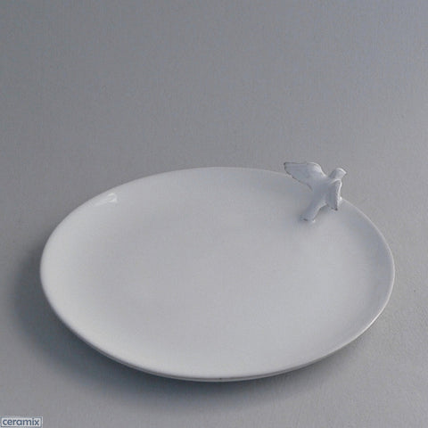 Ceramic Dove Side Plate