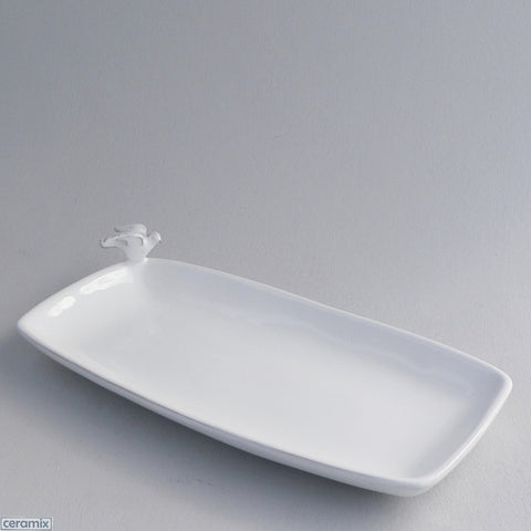 Ceramic Dove Snack Dish