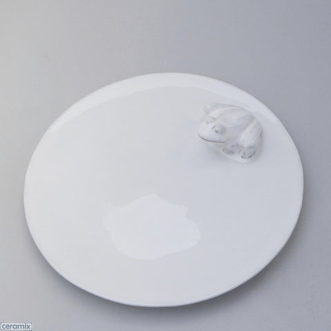 Ceramic Frog Round Plate
