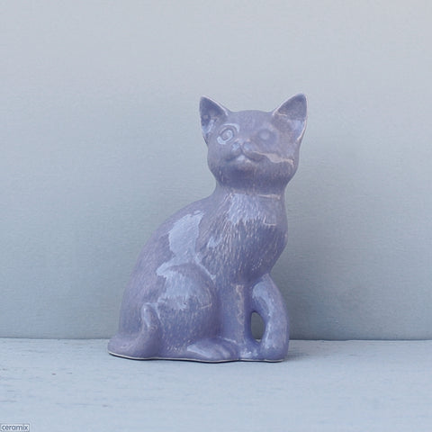 Molly Sitting Ceramic Cat