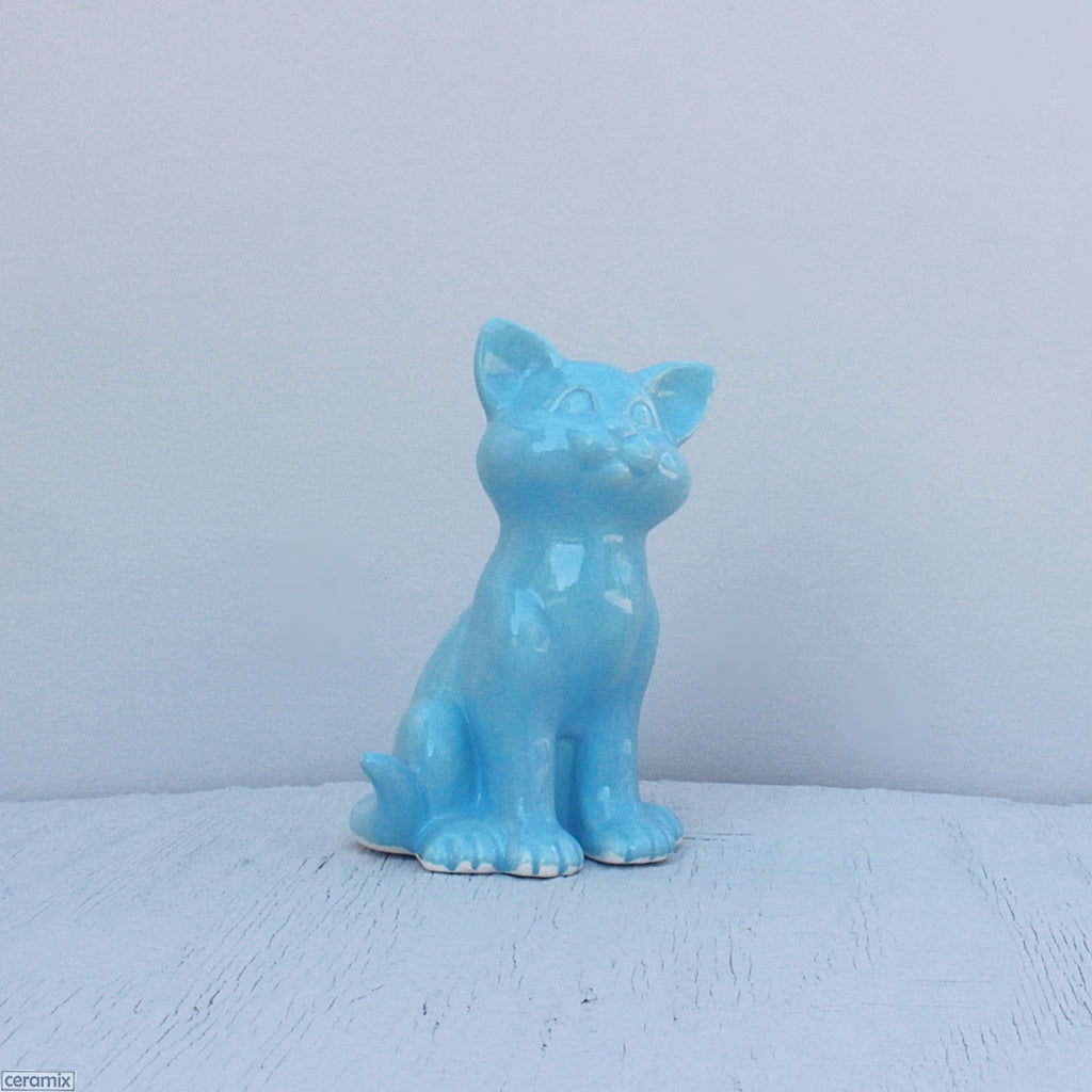 Ceramic Kit Kat Sitting Kitten