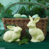 Medium Yellow Rabbits Handmade  at a pottery in South Africa by Ceramix from African clay.