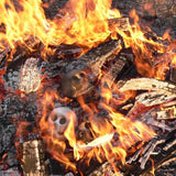 Fire up your Zombie Skull Head at your next braai by Ceramix.co.za