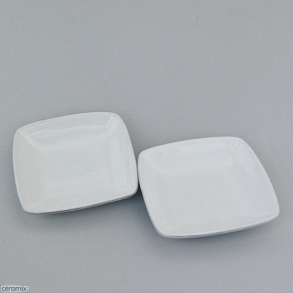 designer whatever little square dishes – ceramixcoza -  designer whatever little white square dishes by ceramix