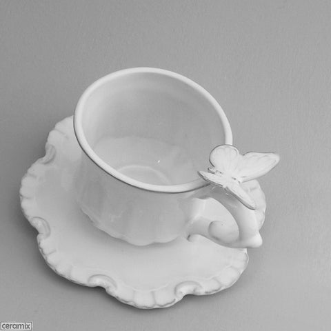 Butterfly Chateau Ware Coffee Cup & Saucer
