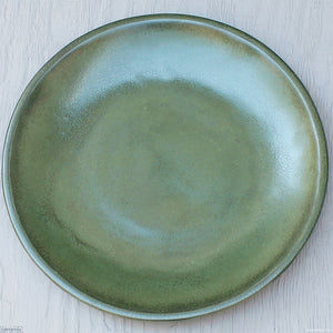 Jasper Large Round Stoneware Platter handmade at the Ceramix pottery in South Africa from African clay - 43cm Wide x 5.5cm High