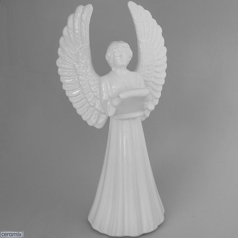 Large Angel with Music