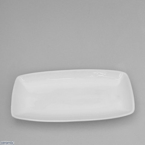 Designer Snack Dish made from White Glazed Terracotta clay by Ceramix
