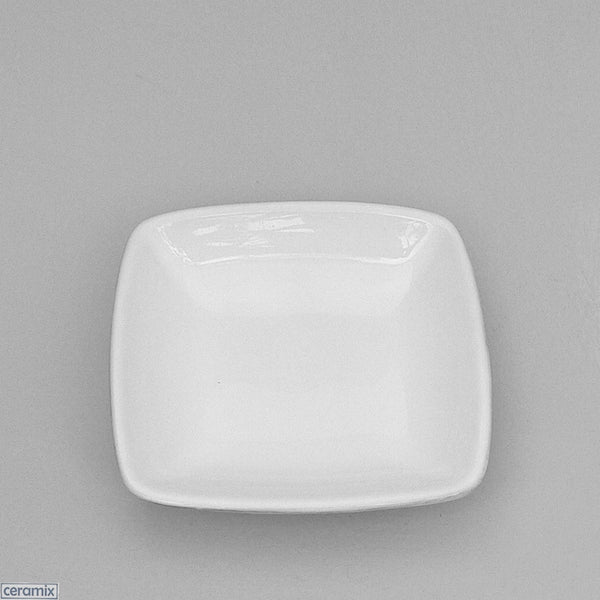 White glazed Designer Whatever Dish made from Terracotta clay by Ceramix