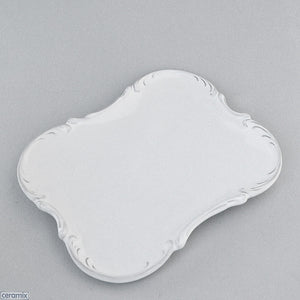 Chateau Ware Plain Ceramic Tray by Ceramix