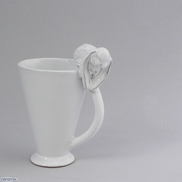 Bunny Mug with Oval Handle by Ceramix