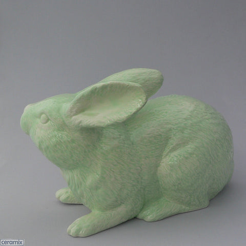Large Ceramic Jimmy Crouching Rabbit