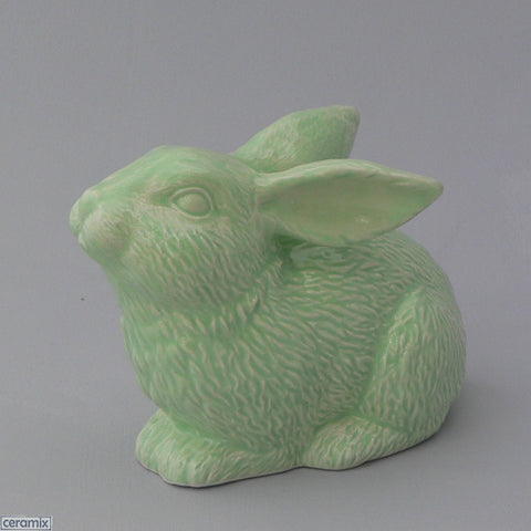 Ceramic Sparkles Crouching Rabbit