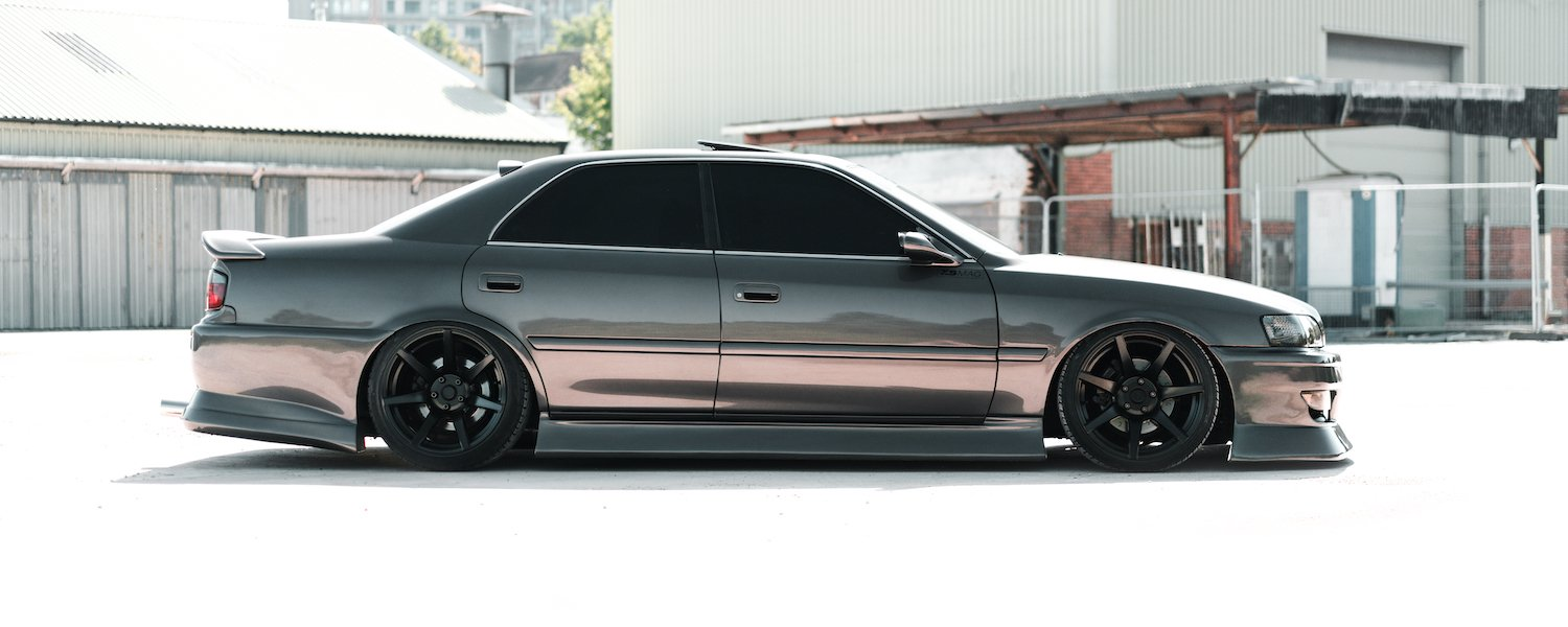 JZX100 Chaser slammed on deep concave 7twenty Style55