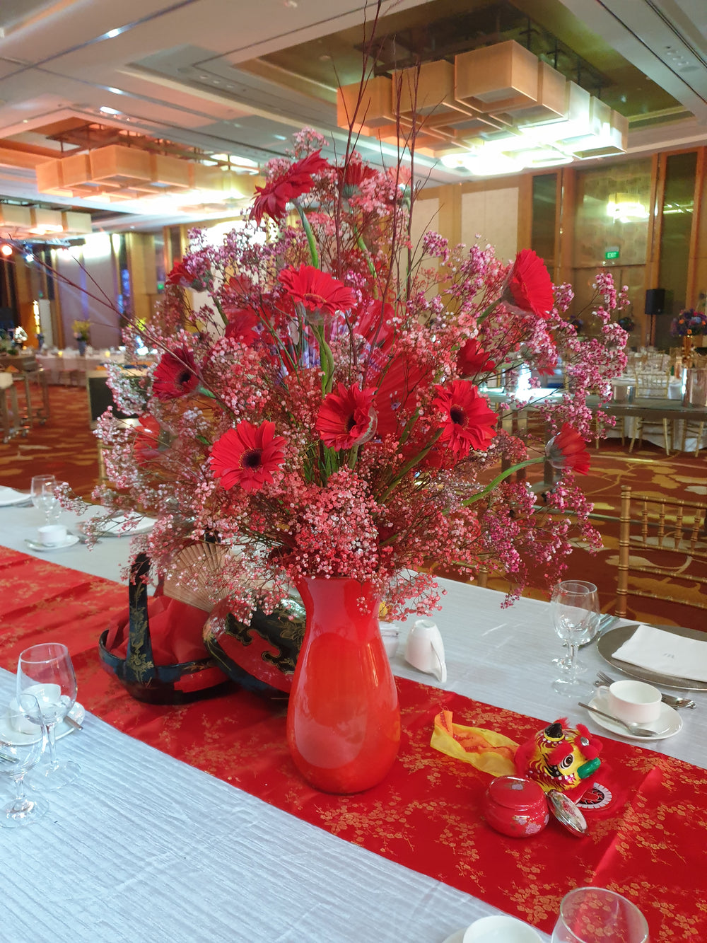 Chinese theme flowers for your events
