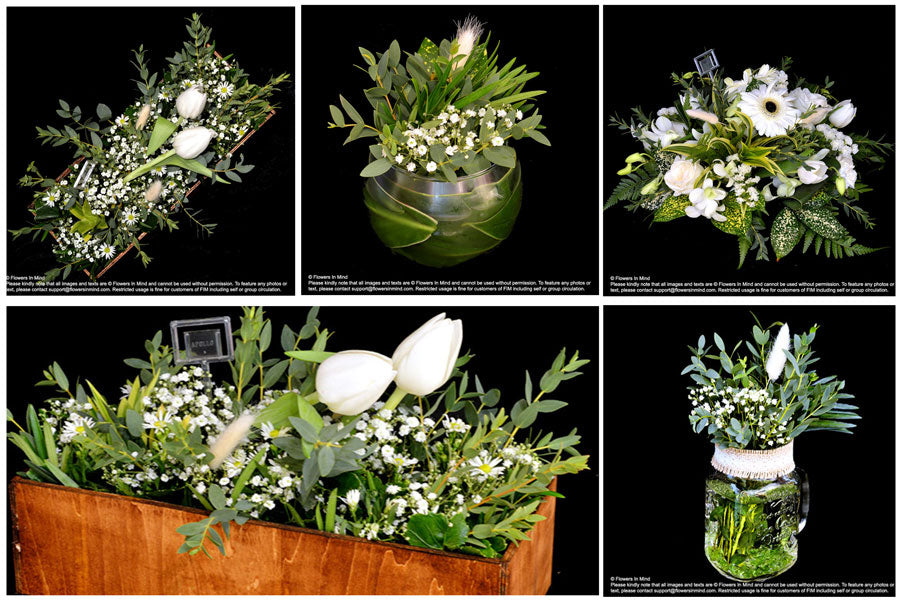 fresh flowers table arrangements, best in singapore
