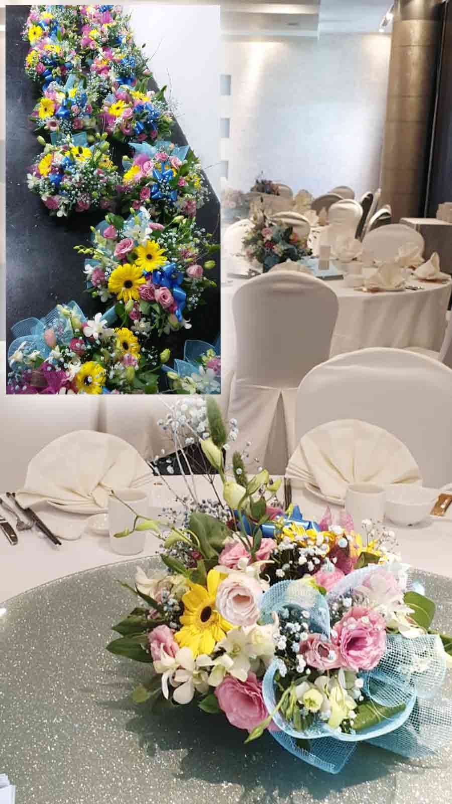 get your best quote for event flowers for any dinner now