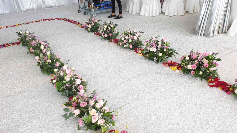 wedding flowers decoration at any event rental space