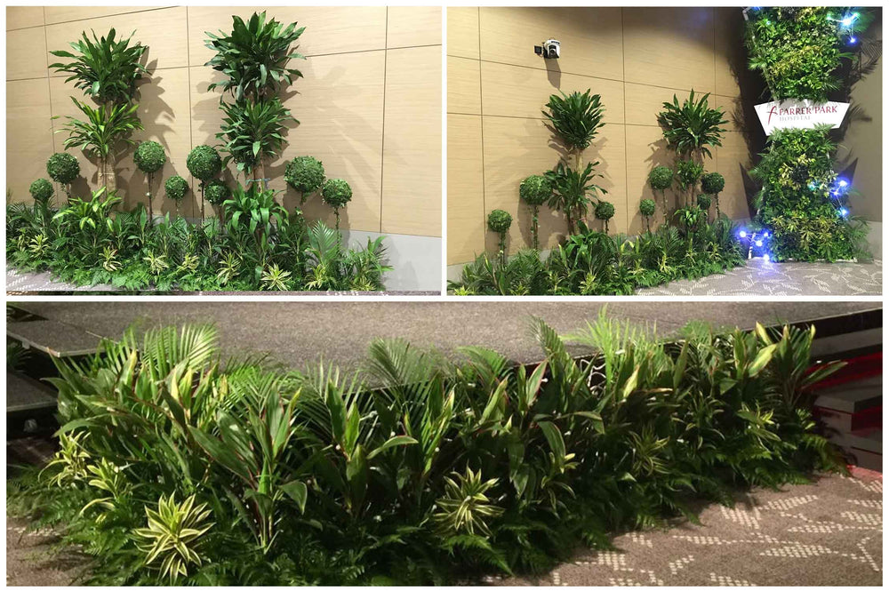 event landscaping for farrer park hospital opening