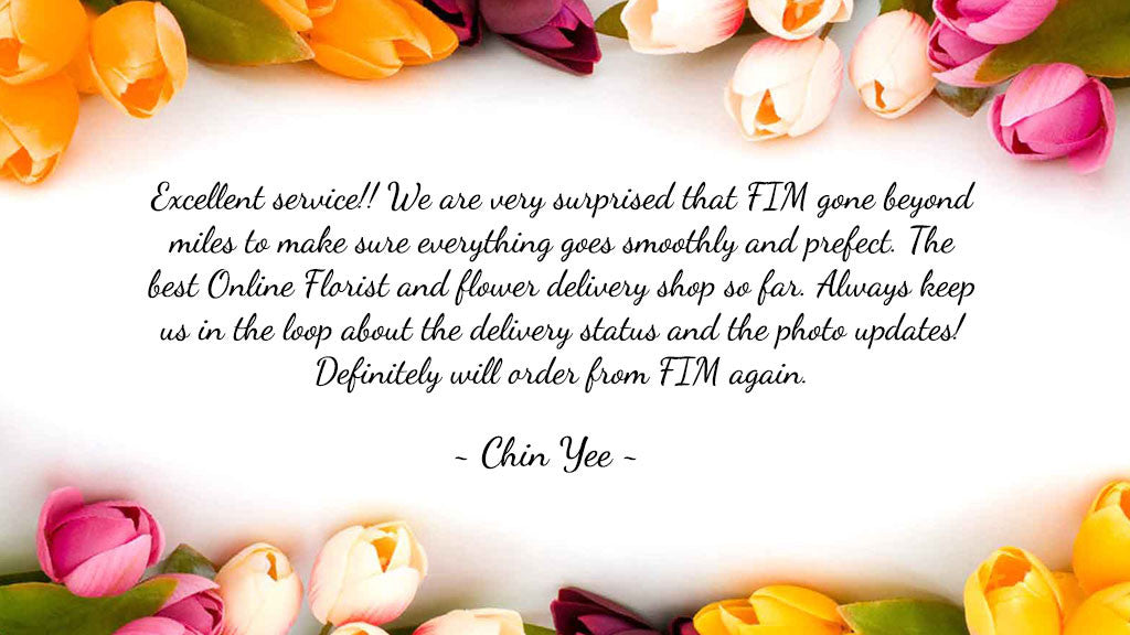 Customer Review All Flowers In Mind