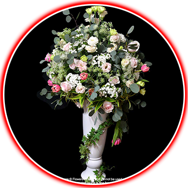 table arrangement flowers category