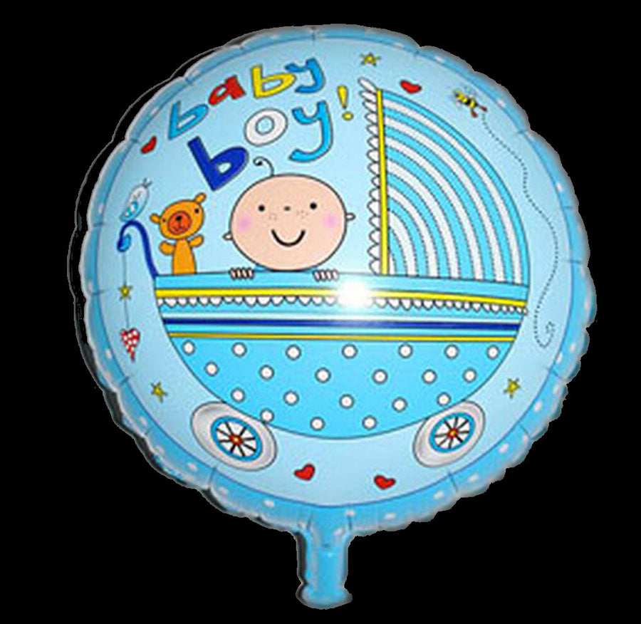 Helium Baby Balloon Delivery‎ (BA02) - Flowers-In-Mind