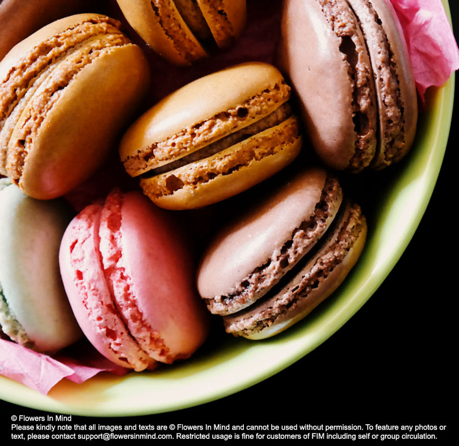 Assorted Macarons  (AD01) - Flowers-In-Mind